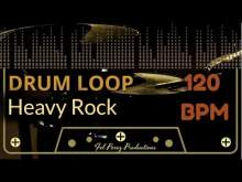 Embedded thumbnail for Heavy Rock - Free Drum Loop 120 BPM (Backing Track Bateria)