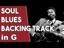 Embedded thumbnail for Soul Blues Backing Track in G