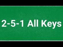 Embedded thumbnail for ALL KEYS - 2-5-1 Swing Jazz Backing Track - 120bpm