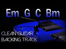 Embedded thumbnail for Clean Rock Guitar Backing Track E minor