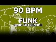 Embedded thumbnail for Funk | Drum Metronome Loop | 90 BPM