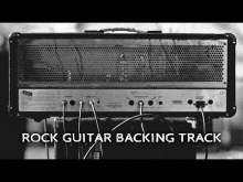 Embedded thumbnail for Rock Power Chords Guitar Backing Track A Minor Pentatonic