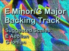Embedded thumbnail for E Minor/G Major Backing Track: Upbeat, Optimistic, Rock