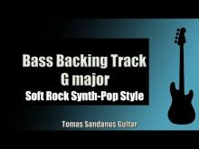 Embedded thumbnail for Bass Backing Track Jam in G Major | Soft Rock Synth-Pop Style