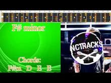 Embedded thumbnail for Epic Melancholic Charming Rock Ballad Guitar Backing Track - F# minor | 90 bpm