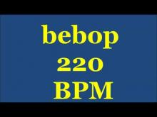 Embedded thumbnail for Drum Loops for Practice Bebop 220bpm