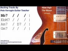 Embedded thumbnail for How High The Moon Backing Track