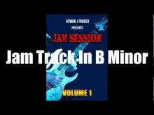 Embedded thumbnail for B Minor Backing Track - Technotronic