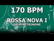 Embedded thumbnail for Bossa Nova I | Drum Metronome Loop | 170 BPM