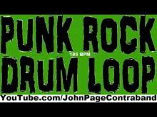 Embedded thumbnail for Punk Rock Thrash Practice Drum Loops 185 bpm Half Hour Long Track