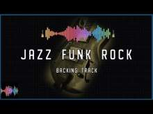 Embedded thumbnail for Jazz Funk Rock Backing Track in F Blues