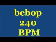 Embedded thumbnail for Drum Loops for Practice Bebop 240bpm