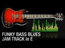 Embedded thumbnail for Funky Slap Blues Rock Backing Jam Track in E 115 bpm