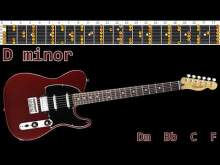 Embedded thumbnail for Classic Piano Rock Guitar Backing Track - D minor | 125bpm