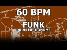 Embedded thumbnail for Funk | Drum Metronome Loop | 60 BPM