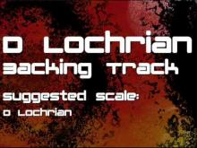 Embedded thumbnail for D Locrian Backing Track: Metal, Industrial, Crunchy