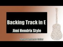 Embedded thumbnail for Backing Track in E Jimi Hendrix Style with Chords and E minor Pentatonic Scale