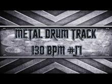 Embedded thumbnail for Modern Metal Drum Track 130 BPM (HQ,HD)