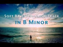 Embedded thumbnail for B Minor Emotional Ballad Backing Track 93 Bpm