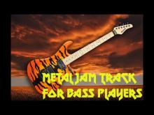 Embedded thumbnail for Metal jam track for bass players