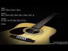 Embedded thumbnail for Soft Acoustic Guitar Ballad Backing Track D Major Jam