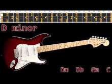 Embedded thumbnail for Magic Rock Ballad Guitar Backing Track - D minor | 68bpm
