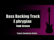 Embedded thumbnail for Bass Jam Track in E phrygian | Funk Rock Groove