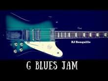 Embedded thumbnail for G Blues Jam | Hendrixy Guitar Backing Track