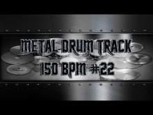 Embedded thumbnail for Easy Metal Drum Track 150 BPM   Preset 3.0 (HQ,HD)