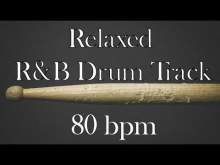 Embedded thumbnail for Relaxed R&B drum track - 80 bpm