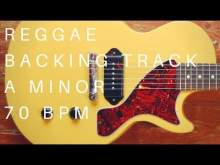 Embedded thumbnail for Reggae Guitar Backing Track | A minor (70 Bpm)