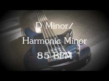Embedded thumbnail for D Harmonic Minor - Moody Downtempo - Bass Jam Track