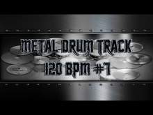 Embedded thumbnail for Simple Straight Metal Drum Track 120 BPM | Preset 3.0 (HQ,HD)