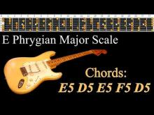 Embedded thumbnail for Agressive Heavy Metal Style Backing Track - E Phrygian Major Scale  | 160bpm
