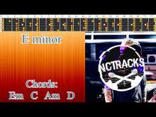 Embedded thumbnail for Emotional Sweet Intense Pop Rock Guitar Backing Track - E minor | 115 bpm