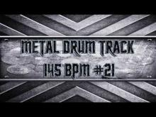 Embedded thumbnail for Simple Straight Metal Drum Track 145 BPM (HQ,HD)