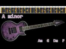 Embedded thumbnail for Fast Rock Guitar Backing Track - A minor | 170bpm