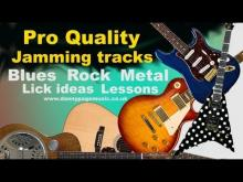 Embedded thumbnail for Pro Quality Texas Rock blues Am with shuffle groove - Rory Gallagher/ZZ Top