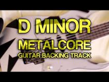 Embedded thumbnail for D Minor Metalcore Guitar Backing Track [ Drop D ]