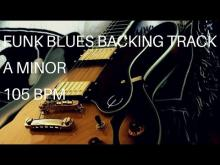 Embedded thumbnail for Funk Blues Guitar Backing Track | A Minor (105 Bpm)