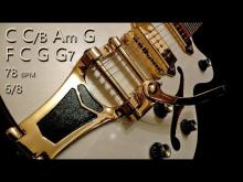 Embedded thumbnail for Oldies Slow Ballad Guitar Backing Track C Major Jam