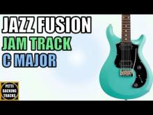 Embedded thumbnail for C Major - Jazz Fusion Backing Track