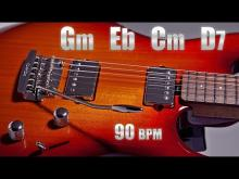 Embedded thumbnail for Emotional Sad Guitar Ballad Backing Track G minor