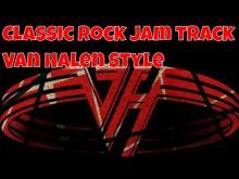 Embedded thumbnail for Rock Jam Track in D Minor ( Van Halen Style )