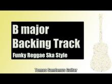 Embedded thumbnail for Backing Track in B Major Funky Reggae with Chords and B Major Pentatonic Scale