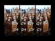 Embedded thumbnail for Blues Backing Track in G for Soloing