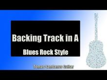 Embedded thumbnail for Backing Track in A Blues Rock Style with Chords and A Blues Scale