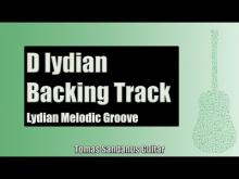 Embedded thumbnail for Guitar Backing Track Jam in D lydian mode | Lydian Melodic Groove