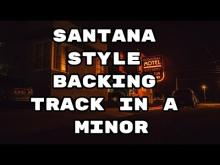 Embedded thumbnail for Santana Style Backing Track