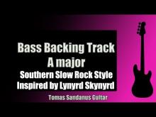Embedded thumbnail for Bass Backing Track Jam in A Major | Southern Slow Rock Style | Inspired by Lynyrd Skynyrd